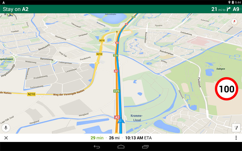 Maps Speed Limits | shows speed limits in Google Maps for Android